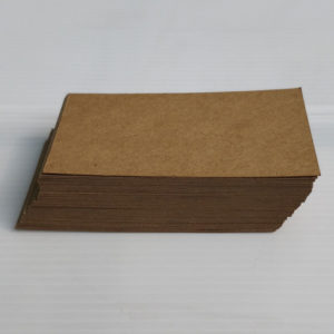 Waste Recycled Products – RECYCLED PAPER VISITING CARD - SINGLE-COLOUR