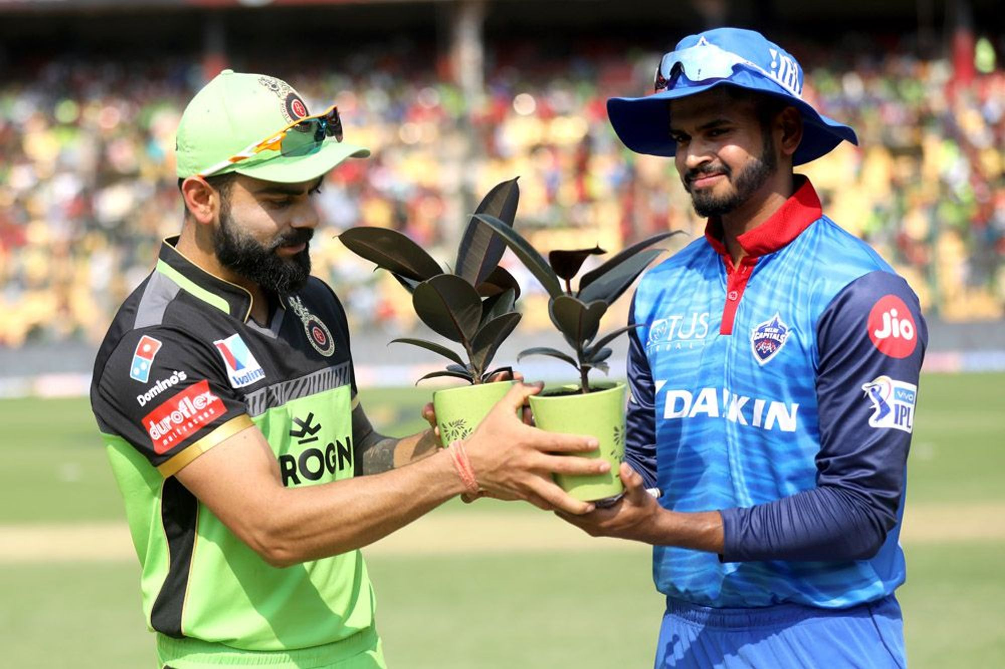 Virat Kohli on Green Day Match at Chinnaswamy
