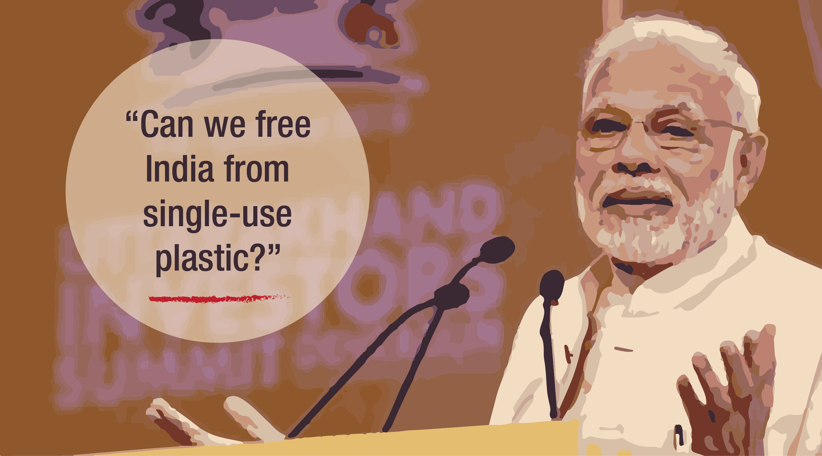 PM Modi: Can we free India from single-use plastic