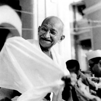 Following in the foot-steps of the Mahatma
