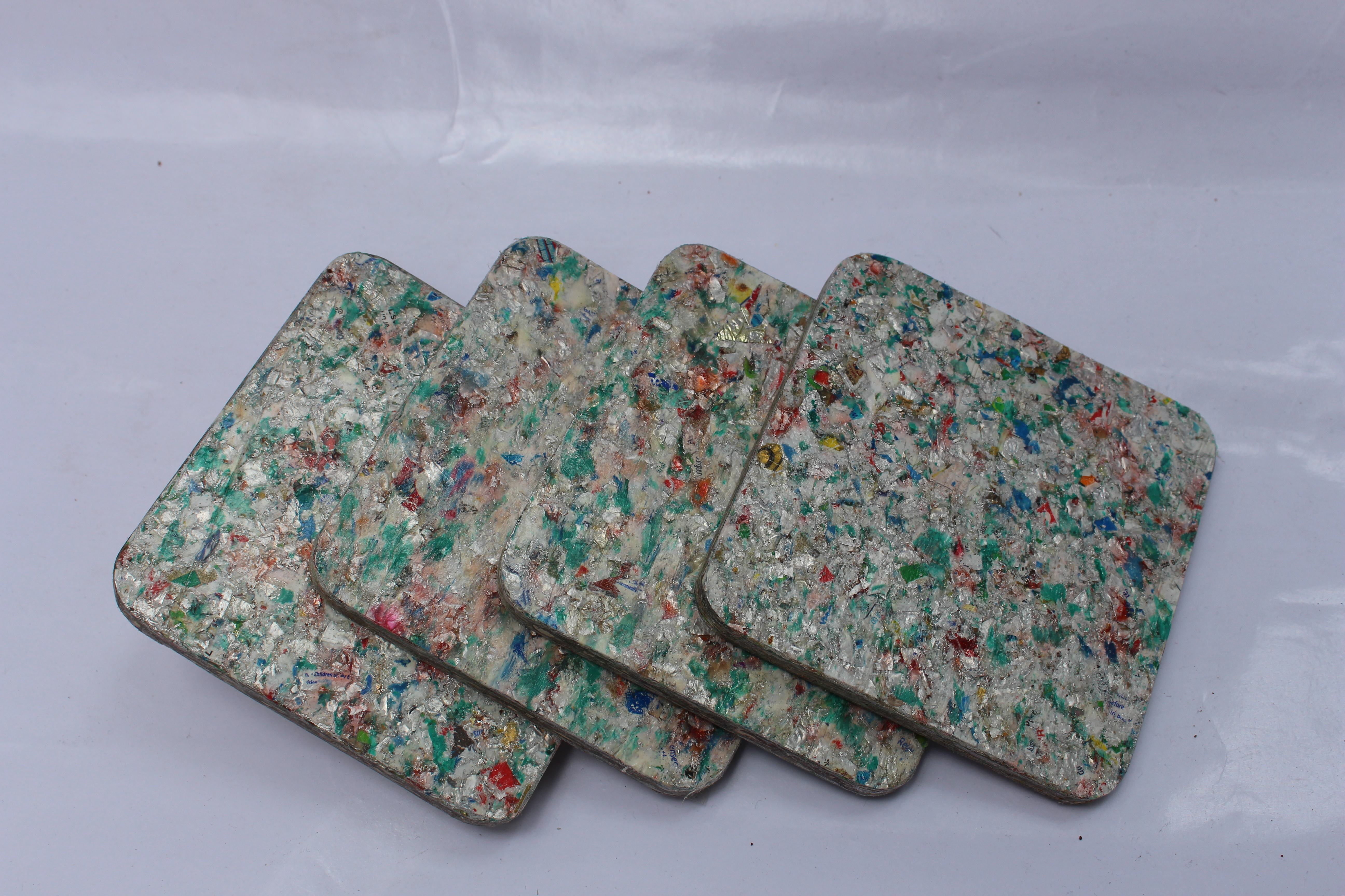 Waste Recycled Products – ECO BOARDS COASTER (REPROCESSED)