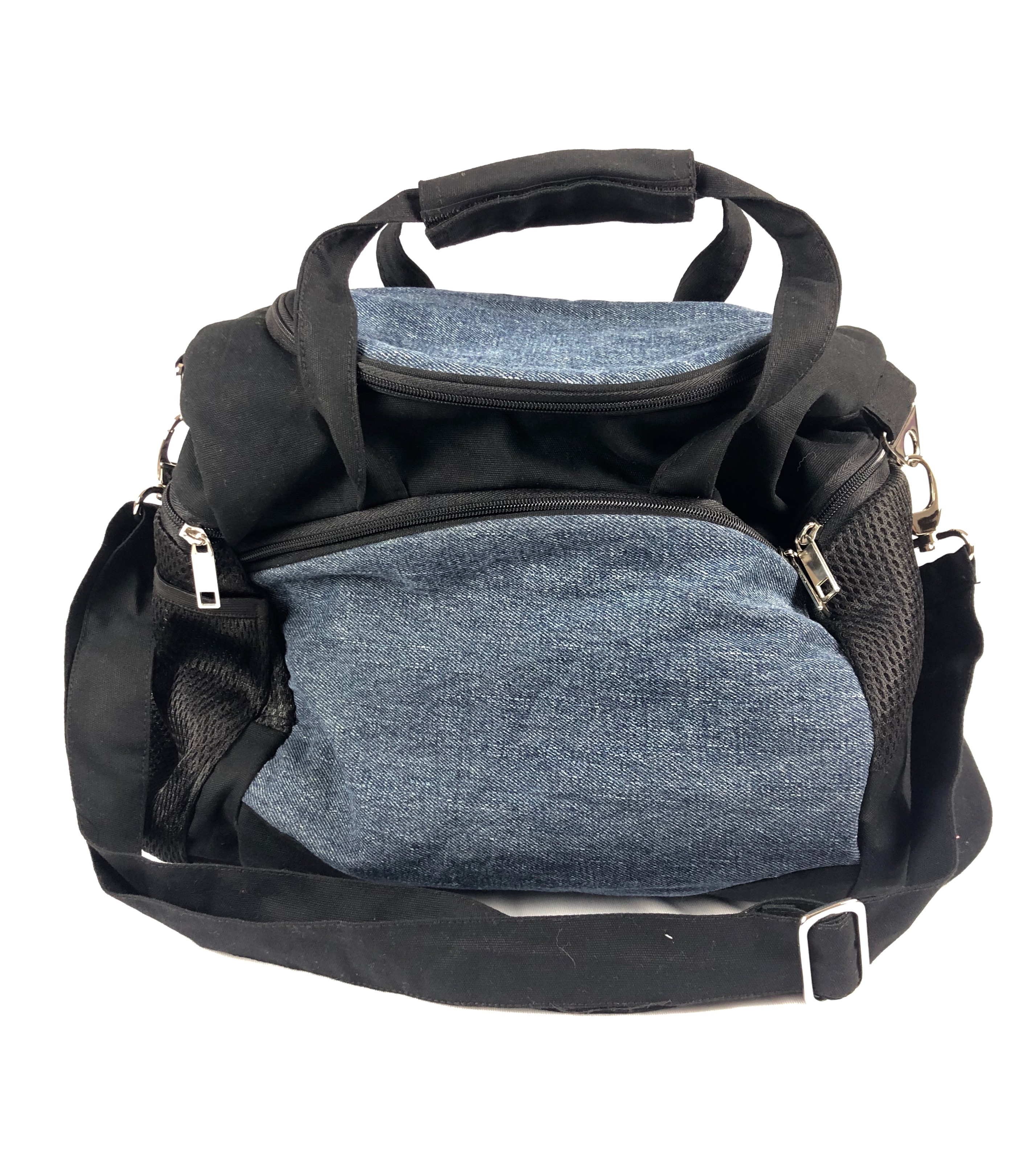 Waste Recycled Products – DENIM GYM BAG