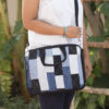 Waste Recycled Products – DENIM LAPTOP BAG (RECTANGULAR PATCHWORK)