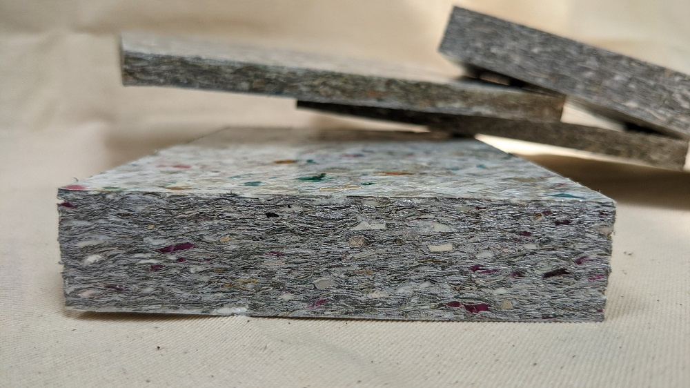 Waste Recycled Products – ECO-BOARD FLAT SHEETS - SUSTAINABLE ALTERNATIVE TO PLYWOOD