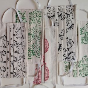 Waste Recycled Products – MASKS WITH TIEBACKS