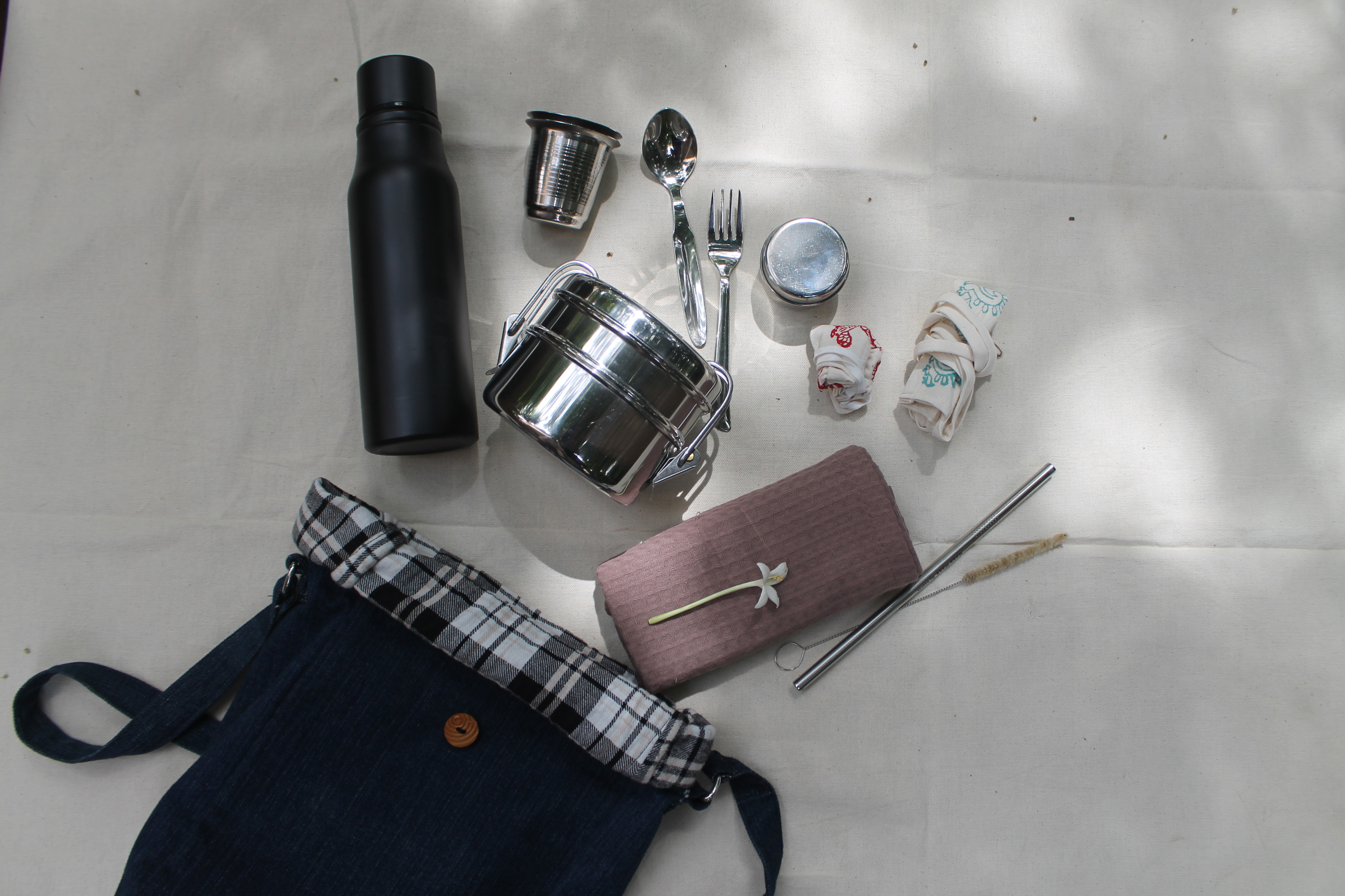 Waste Recycled Products – ZERO-WASTE TRAVEL KIT