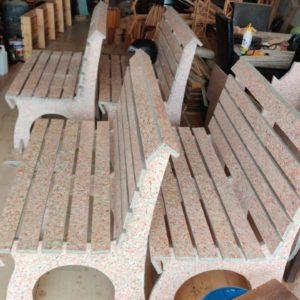 Waste Recycled Products – ECO-BOARD BENCHES